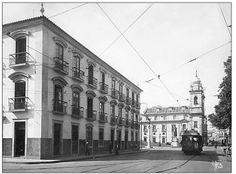 O Paço imperial, década de 20.✳
