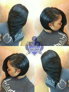 #BobLife I am so in love with this style #blackhairstyleswithweave
