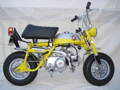 1969 Honda Mini-Trail Z50K1. The world's best-selling mini bike ever, with over 500K units sold!