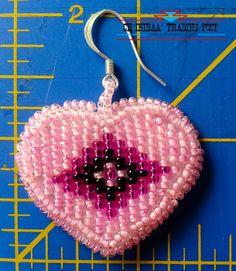 Navajo Heart Contemporary Native American by ChinibaaTradingPost