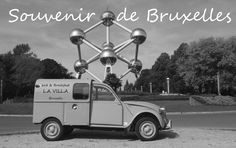 2cv azu 250 ...My 2CV van in Brussels ;-)