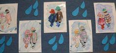 Počasí - Déšť - zapouštění vodovek do klovatiny