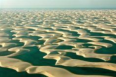 strange desert in Brasilia