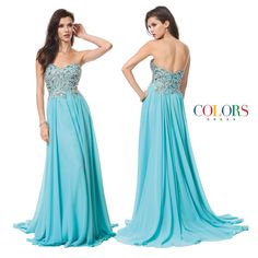 Sweeping Drama! COLORS DRESS Style 1175. #gown #prom #promshopping