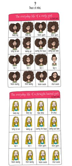 9 Reasons Straight Hair Is Better:  This is actually racist and unfair. Both straight and curly hair are beautiful.