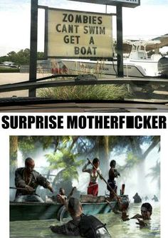 Damn you Dead Island! Now what do we do? Meme Pictures, Funny Photos, Jim Carey Funny, Dead Island 2, Zombie Army, Zombie Gifts, Dark Jokes, Video Games Girls, Just A Game