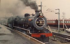 South African Railways South African Railways, Kenya Nairobi, Uk Europe, Those Were The Days, Busses, Steam Locomotive, Train Travel, Model Trains, Steam Punk