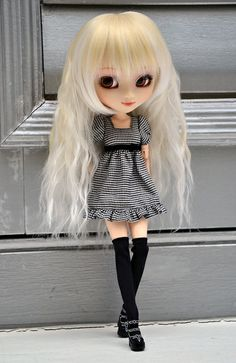 not my doll but she is super cute!