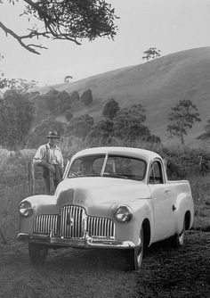 Vintage Cars Holden Ute - Historical Photos of Holden Utes - Classic Holden Ute Pictures - Take a look back at photos of classic Holden utes. Classic Trucks, Classic Cars, Holden Australia, Aussie Muscle Cars, Australian Cars, Vintage Trucks, Funny Vintage, Pickup Trucks, Ford Trucks