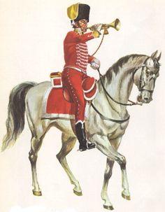 Regno di Spagna - Cazadores de Olivenza 1806 Trompeta