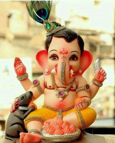 Image may contain: 1 person Ganesh Pic, Shri Ganesh Images, Jai Ganesh, Ganesh Lord, Ganesh Idol, Ganesh Statue, Ganesha Pictures, Shree Ganesh, Lord Krishna Images