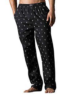 Polo Ralph Lauren Polo Player Print Pajama Pants Printed Lounge Pants Mens Pajamas Mens Outfits