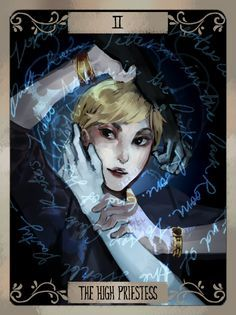LiS tarot cards (set 2) by Xiao Tong Kong/Veloce from Velocesmells on Tumblr