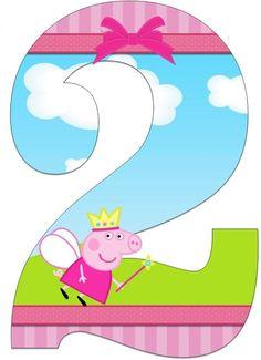 Bildergebnis für bienvenidos a mi fiesta Peppa cerdo Pig Birthday Cakes, 2nd Birthday Parties, Birthday Party Decorations, Invitacion Peppa Pig, Cumple Peppa Pig, Peppa E George, George Pig, Pig Crafts, Pig Party
