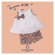 arrase vestindo Planet Kids verão 2015