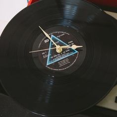 Music Vinyl Lp Record Clock