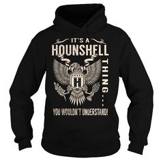 I Love Its a HOUNSHELL Thing You Wouldnt Understand - Last Name, Surname T-Shirt (Eagle) Shirts & Tees