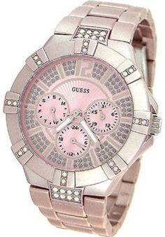 Guess WaterPro Dazzling Sport Multifunction - Pink Women's watch #U12657L2: Watches: Amazon.com