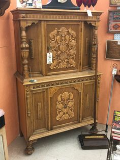 China cabinet for sale at the West Chester Antique Center