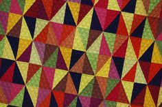 Solids love..... https://flic.kr/p/criu5E | Harlequin Quilt | Quilted in a cross hatch (again)