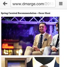 O.H featuring on D'marge for Spring Racing fashion styling. Read the article at www.dmarge.com #oscarhunt #tailors #sartorial #melbourne #springracingcarnival #accessories #dapper #dapperstyle #mtm #madetomeasure #menswear #mensstyle #mensfashion #suit #style #stylish