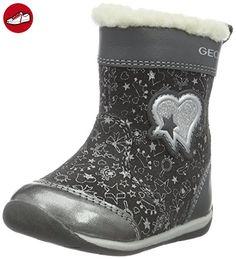 Geox Baby Mädchen B Each Girl E Sneaker, Blau (Avio), 25 EU