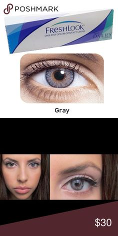 Grey Contacts Brand new freshlook Accessories