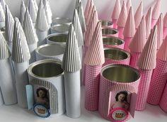 Reciclando latas para lembrancinha de aniversário - Pesquisa Google