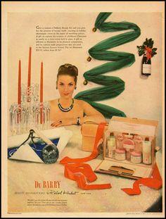 1950s Vintage Ad for Du Barry Cosmetics by Richard Hudnut 120911 | eBay