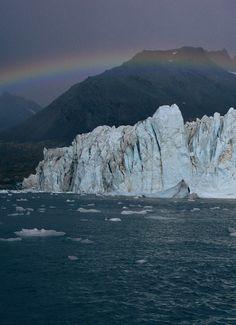 Harker Glacier at South Georgia Island