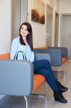 Zapraszamy do naszej Kliniki na ulicy Hallera w Toruniu. #dentist #dentistry #dentysta #toruń Chair, Furniture, Home Decor, Decoration Home, Room Decor, Home Furnishings, Stool, Home Interior Design, Chairs