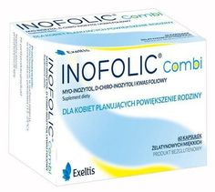 Inofolic Combi x 60 soft capsules UK Beef Gelatin, Soy Lecithin, Folic Acid, Baby, Babys, Infant, Doll