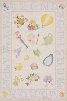 @rosenberryrooms is offering $20 OFF your purchase! Share the news and save!  Classics Soft Pink Playtime Rug #rosenberryrooms