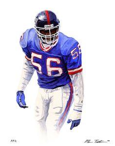 LAWRENCE TAYLOR LB 81-93 - #Lawrence #LB #Taylor New York Giants Logo, New York Giants Football, My Giants, Football 101, Raiders Football, Football Rules, Football Stuff, Sport Football, Lawrence Taylor