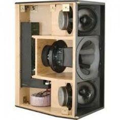 Resultado de imagen de subwoofer box design for 12 inch Car Speaker Box, Custom Speaker Boxes, Speaker Plans, Speaker Box Design, Pro Audio Speakers, Diy Speakers, Hifi Audio, Diy Subwoofer, Subwoofer Box Design