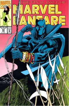 Marvel Fanfare #60 by Denys Cowan  Walter Simonson #BlackPanther