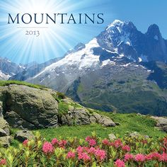 Mountains Wall Calendar: Trek through majestic mountains from all around or simple enjoy the view with this stunning wall calendar for 2013.  http://www.calendars.com/Mountain/Mountains-2013-Wall-Calendar/prod201300018114/?categoryId=cat00730=cat00730#