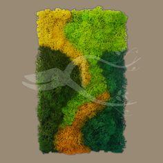 Moss Wall Art - Tablouri Vegetale Moss Wall Art, Moss Art, Moss Decor, Outdoor Projects, Creative Inspiration, Sweet, Crafts, Painting, Ideas