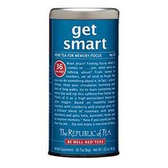 The Republic of Tea, Get Smart Tea, 36-Count ** Click on the image for additional details.
