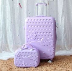 35dfc29c2f Hello Kitty 20 or 24 inches Travel Luggage with Trolley Makeup Case