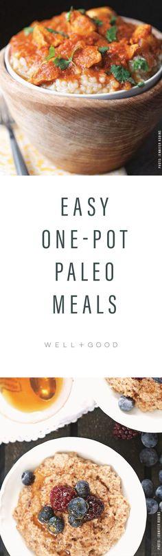 One Pot Paleo Meals