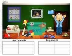 Short-and-Long-Vowel-Search-and-Write-Quick-and-Easy-Literacy-Centers-1079131 Teaching Resources - TeachersPayTeachers.com