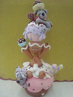 polymer clay, cold porcelain, masa flexible
