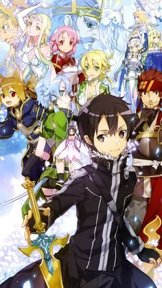 Sword art online 2 arc ll Sinon Ggo, Kirito Asuna, Sword Art Online Asuna, Arte Online, Online Art, Manga Art, Manga Anime, Tous Les Anime, Sao Anime