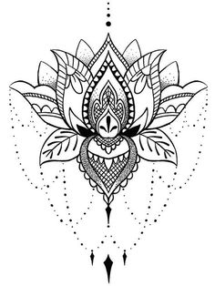 Flor de Lótus - Mais de 70 Modelos de Desenhos - Tatuagens Ideias