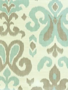 MADRID SKY #blue-turquoise #green #patterns #woven-fabrics
