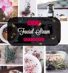 My latest Musely find blew my mind: DIY |  Floral & Herbal FACIAL STEAM Recipe #2017forthewin Natural Facial, Natural Skin Care, Steam Recipes, Facial Steaming, Tanning Tips, Facial Masks, Clear Skin, Soap Making, Dry Skin
