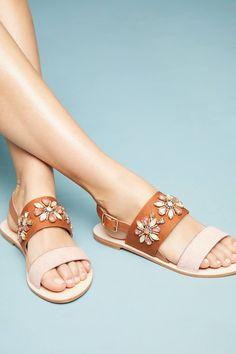 db1a624ada8 Anthropologie Awakening Embellished Sandals