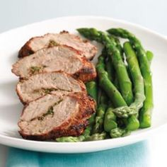 Grilled Pork Tenderloin with Aquavit Seasonings - easy, pretty, and perfect for Phase 1 and Phase 2.