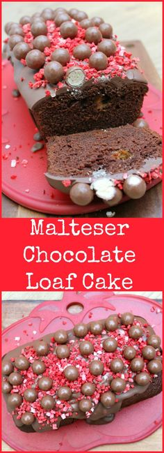 Malteser Chocolate Loaf Cake